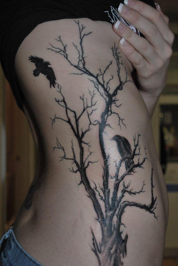 татуировка дерево значение