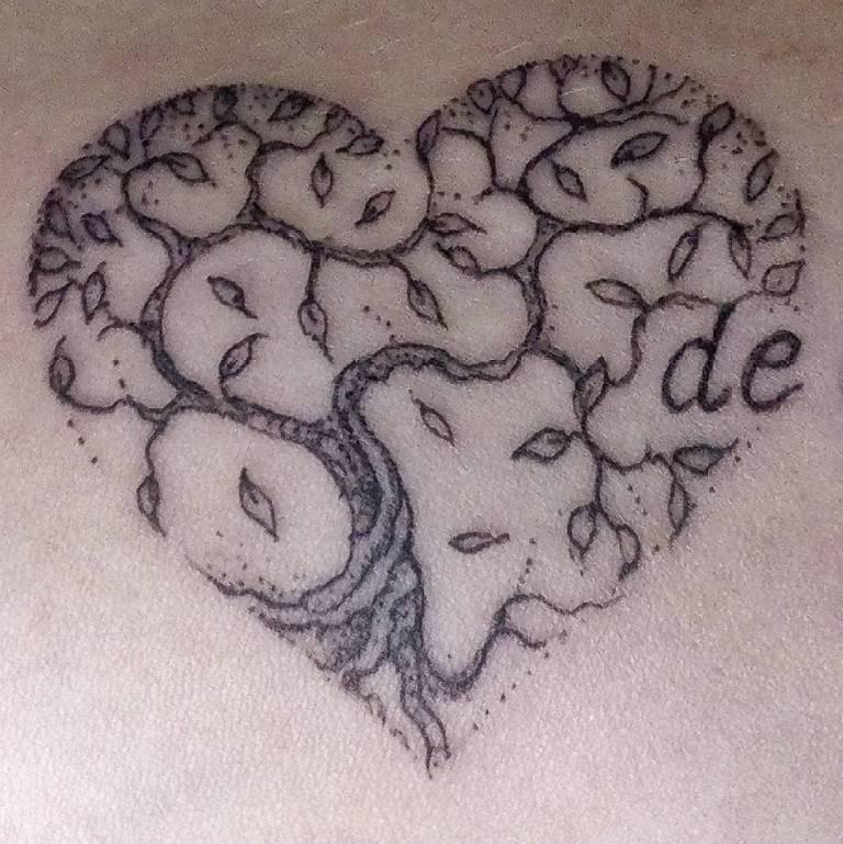 что означает тату дерево