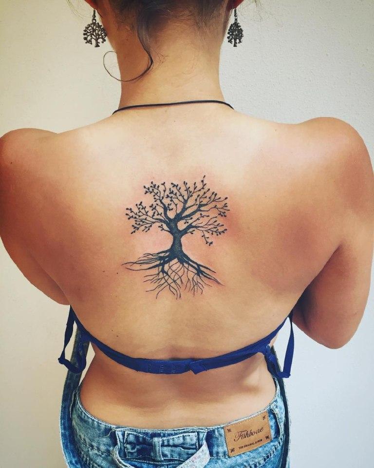 значение татуировки дерево