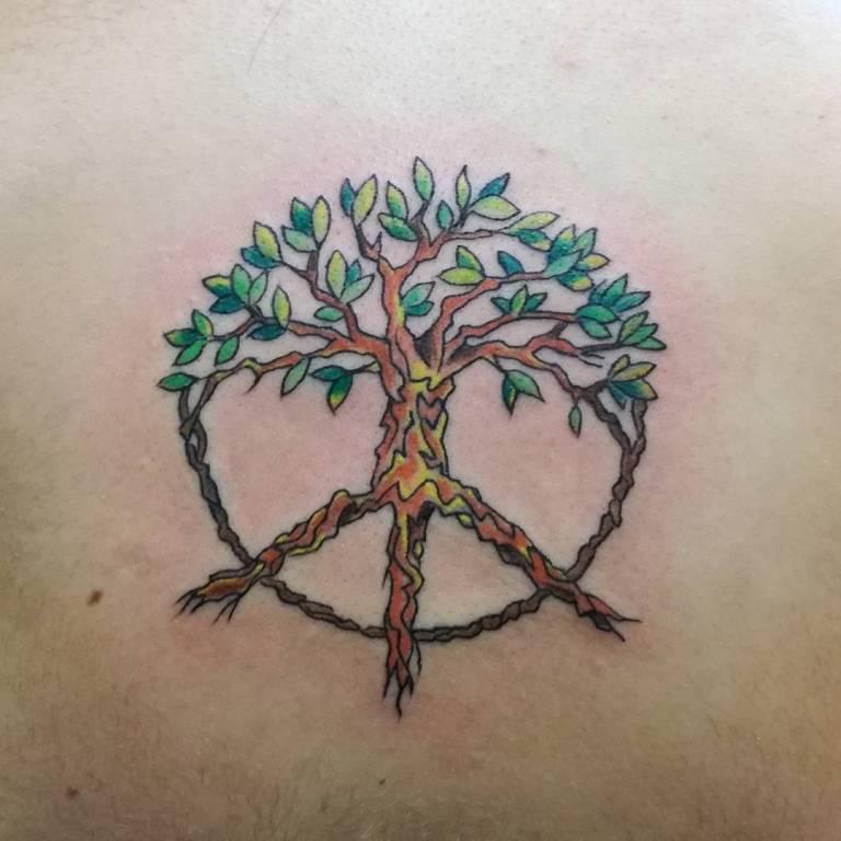 тату дерево жизни значение