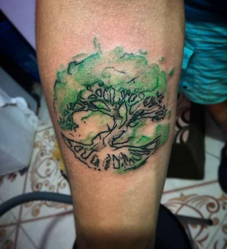 тату древо жизни значение