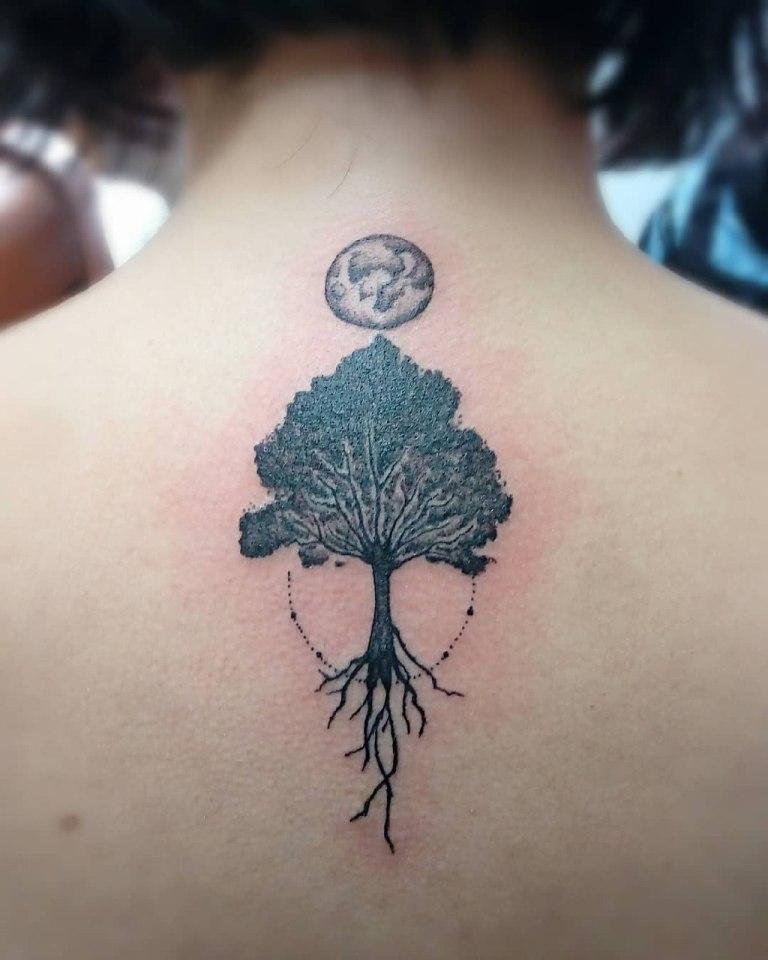древо жизни тату