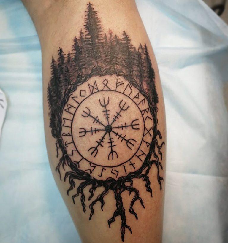 Татуировки обереги для мужчин
