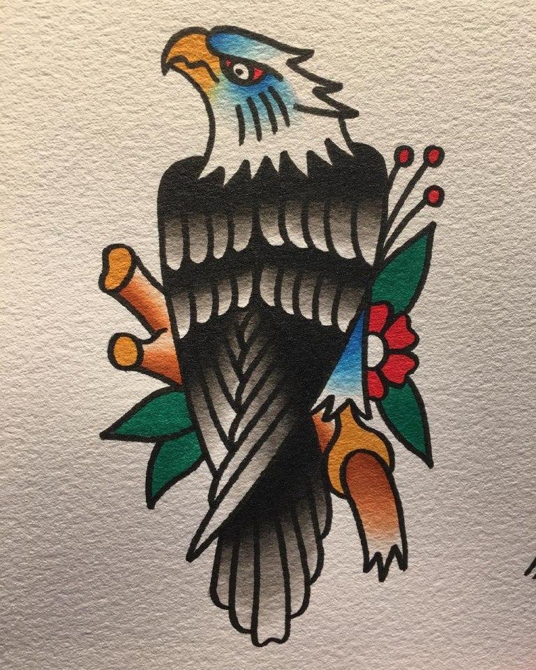 Олд скул орел