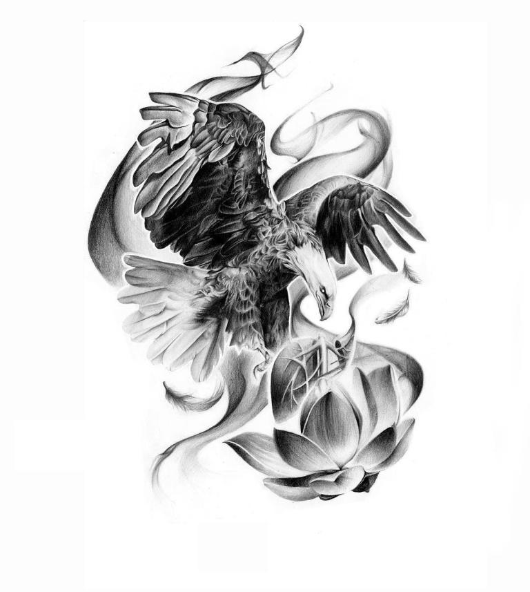 Летящий орел