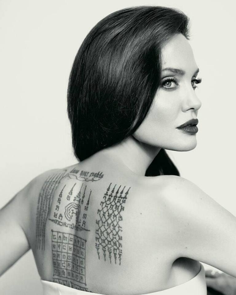 Татуировки звезд голливуда