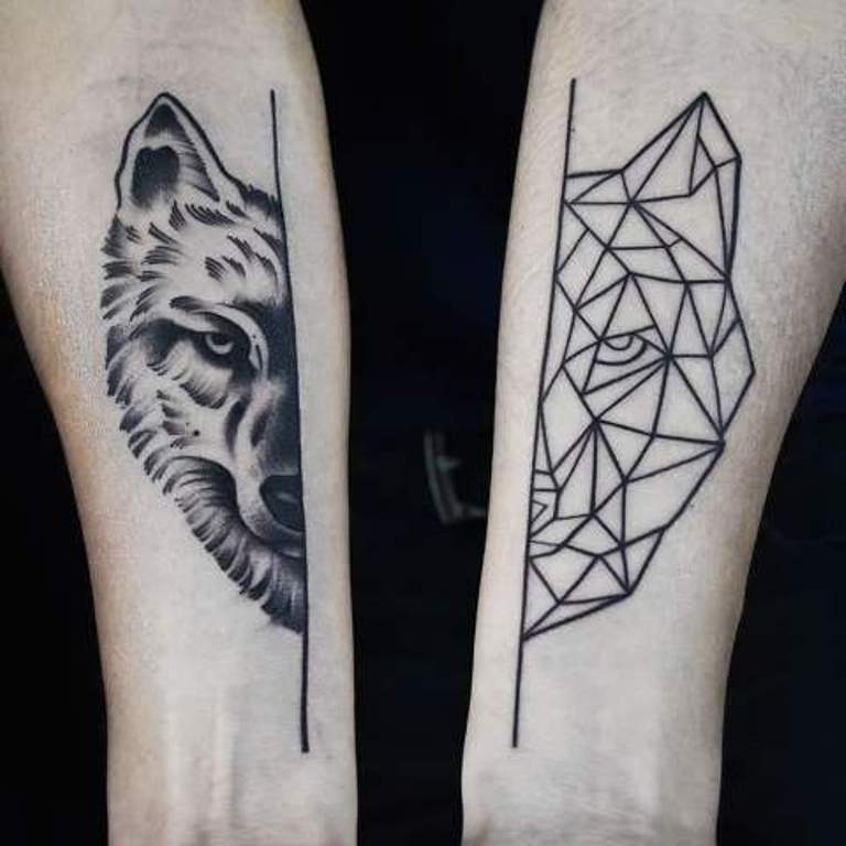 Волк геометрия