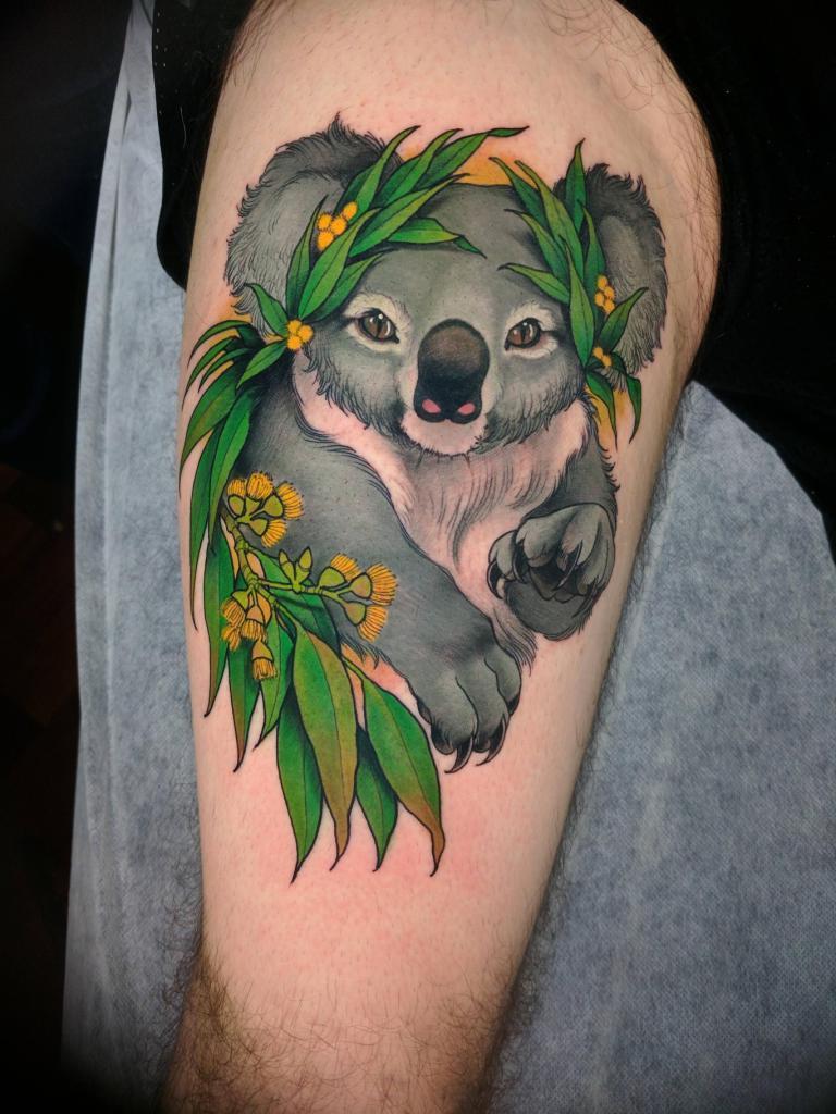 медведь тату значение