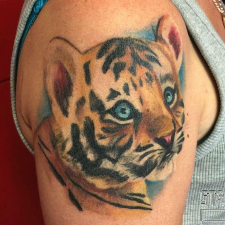 что означает тату тигра