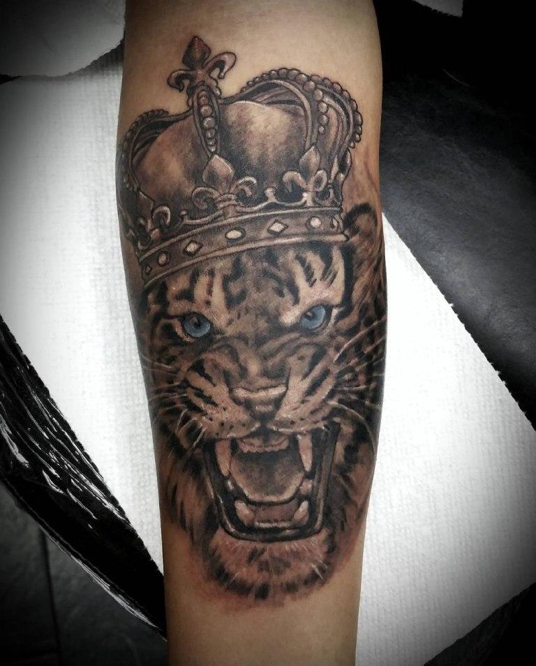 что означает тату тигр