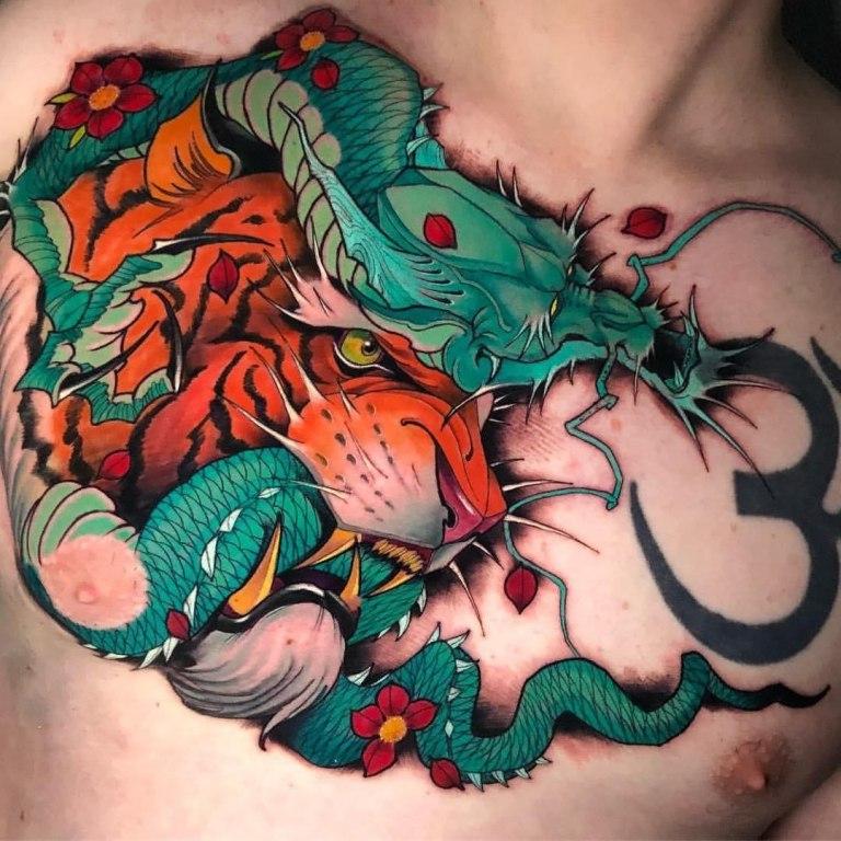 татуировка тигра значение