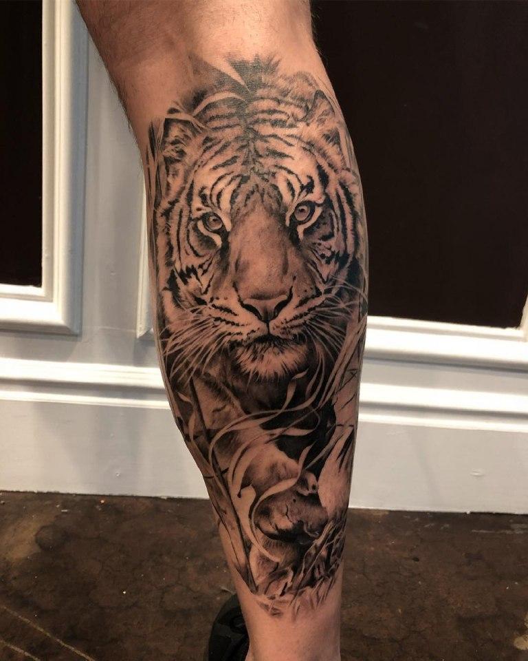 тату тигр значение