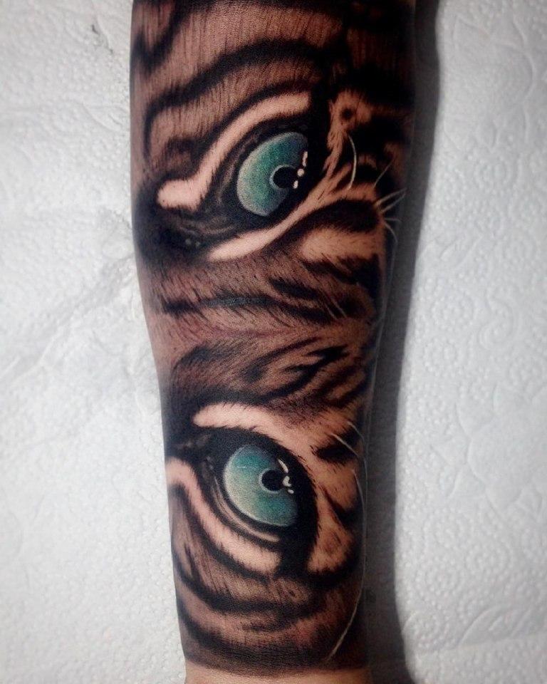 тату тигра значение