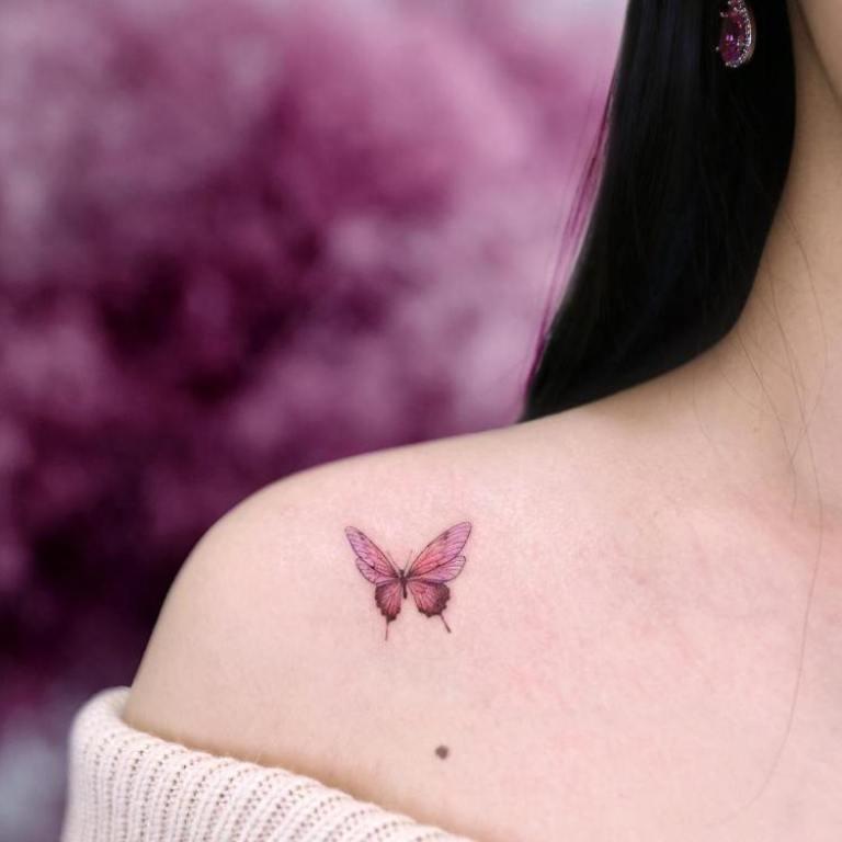 значение татуировок бабочка