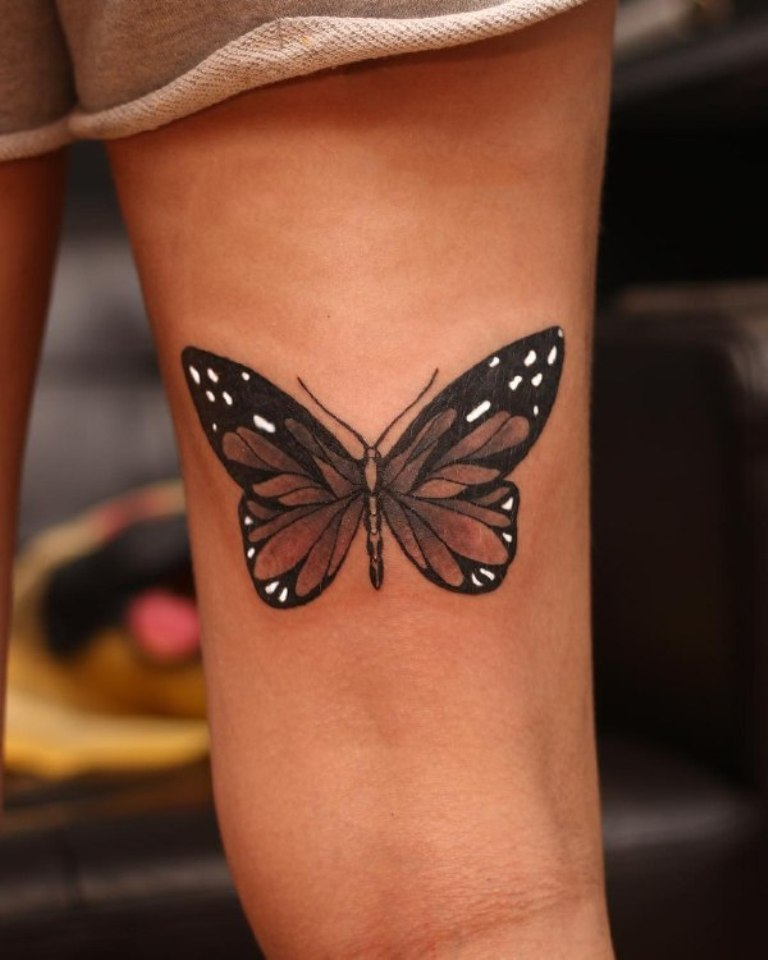 что означает бабочка тату
