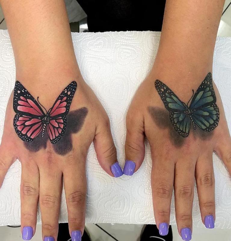 что обозначает тату бабочка