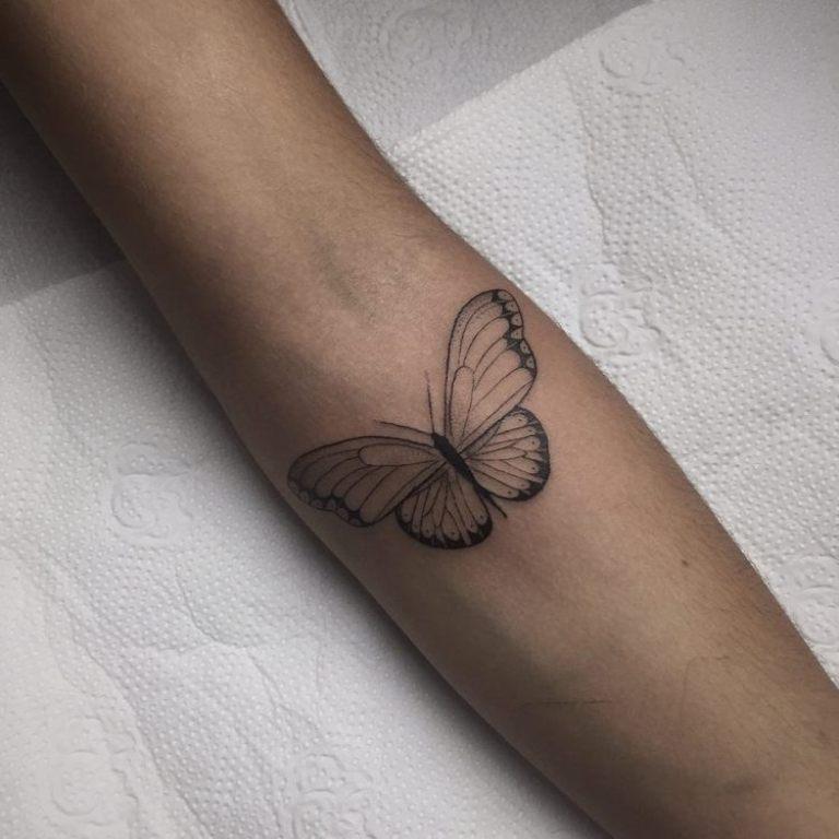 тату бабочки значение для девушек