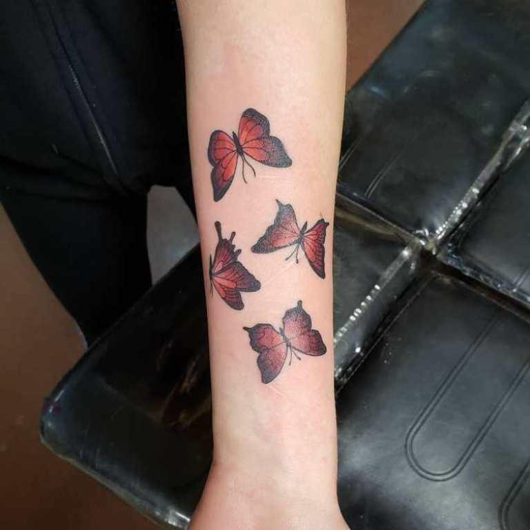 бабочка тату значение