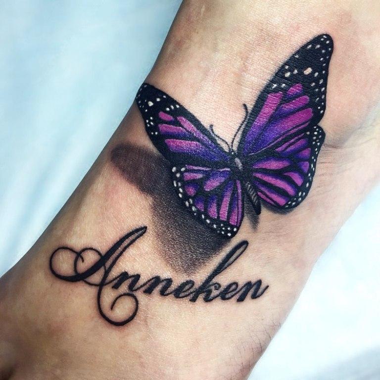 что означает тату бабочки