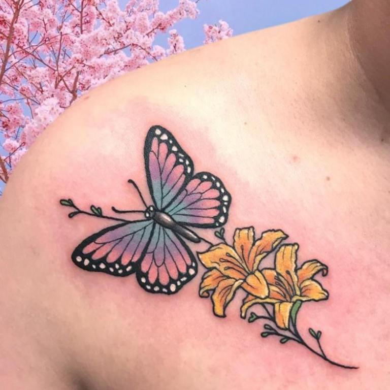 что значит тату бабочка