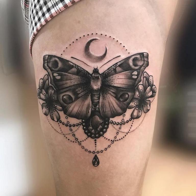 значение татуировки бабочка