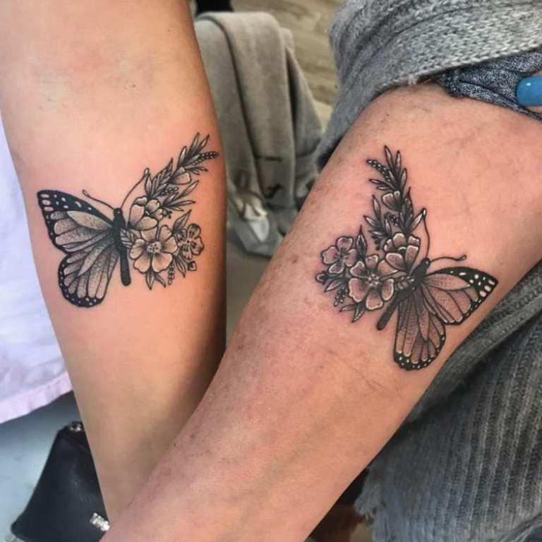 тату бабочка значение