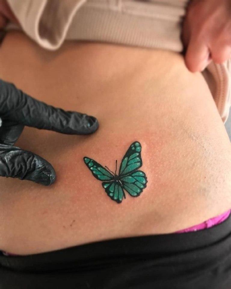 татуировка бабочка значение