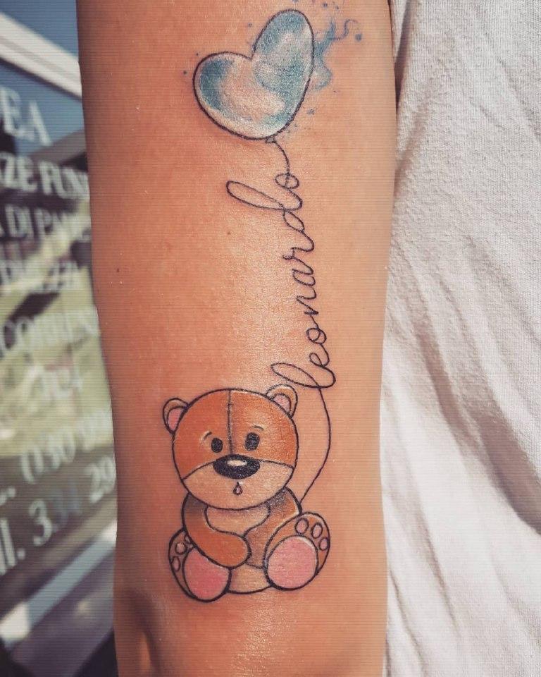 что означает тату медведя