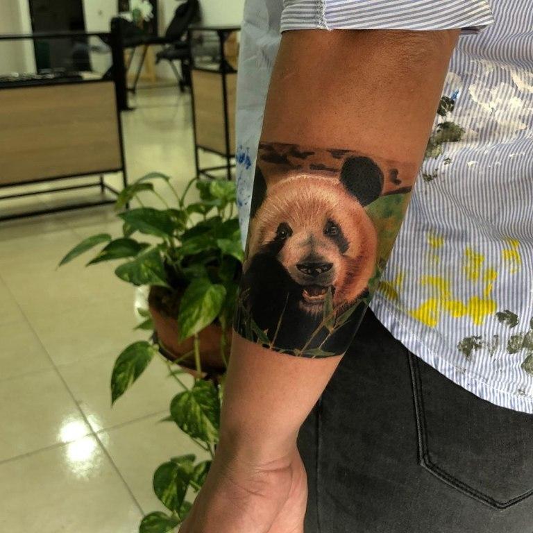 татуировка медведя значение