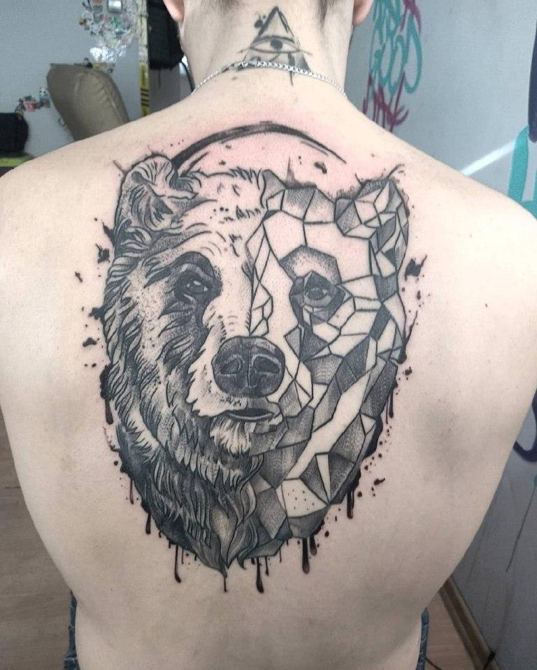 татуировки с медведем
