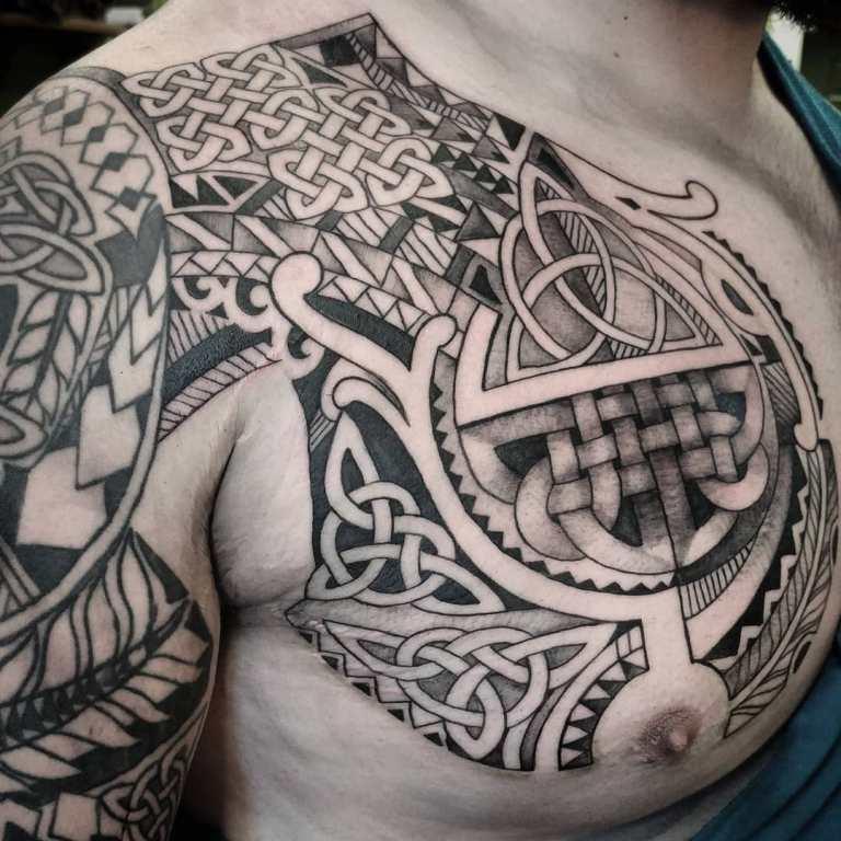 кельтский трилистник