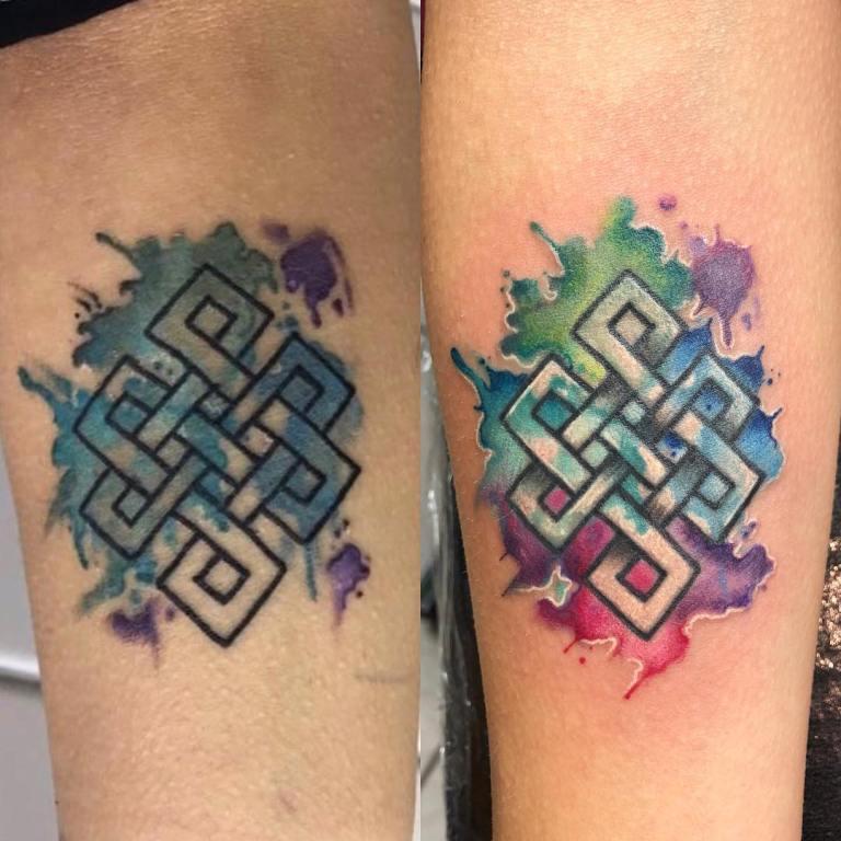 кельтский орнамент тату