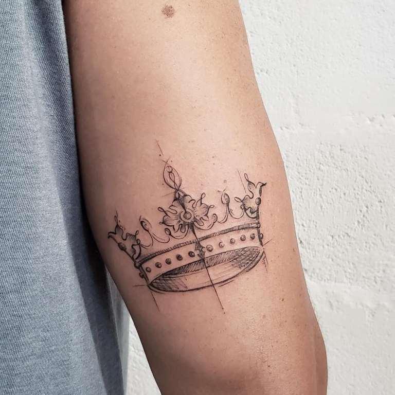 обозначение тату корона