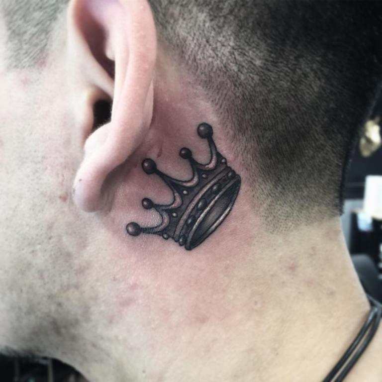корона татуировка