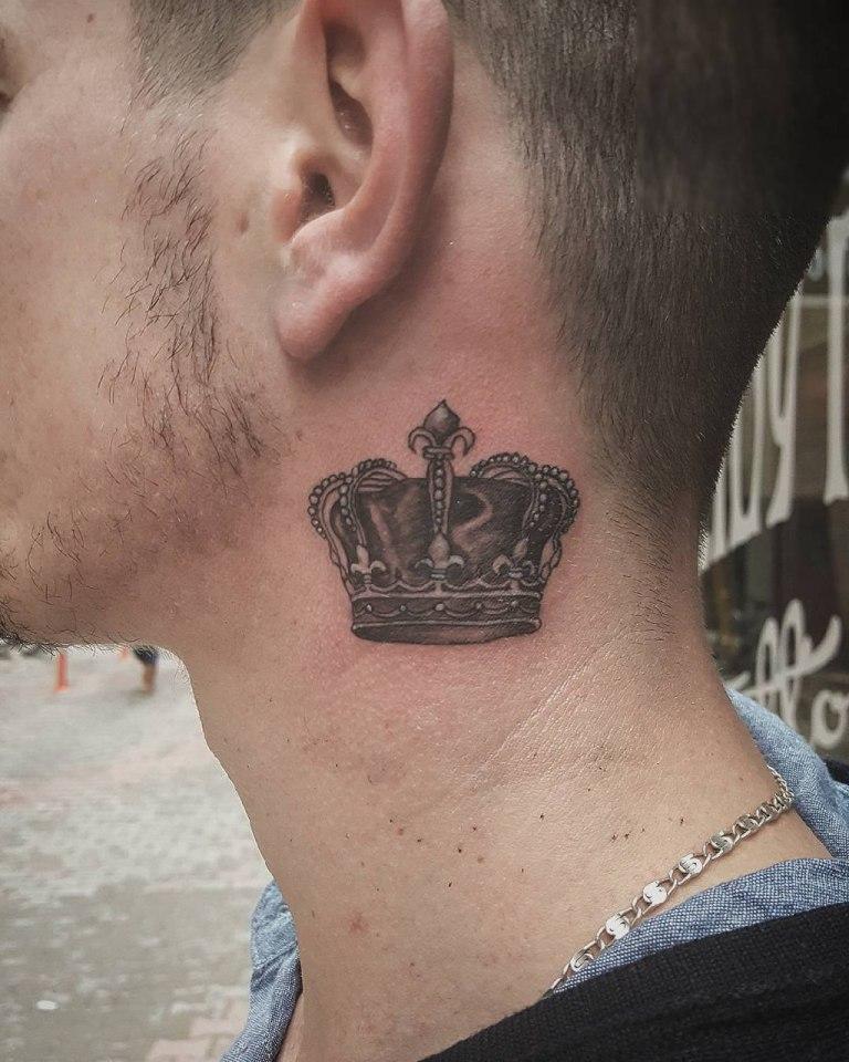 что означает татуировка корона