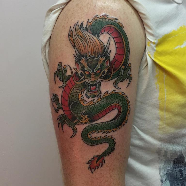 значение тату дракона