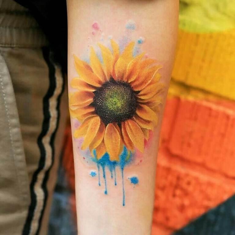 цветы для тату