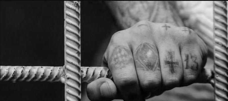 партаки на пальцах