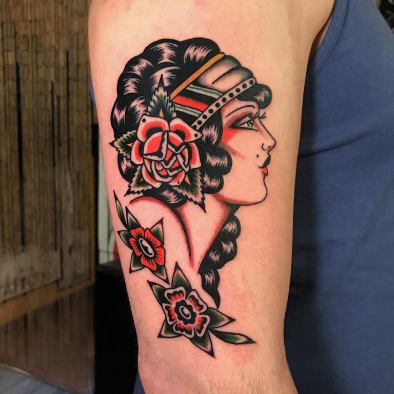 олд скул татуировки