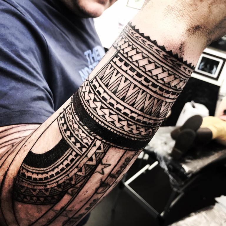 полинезийские тату