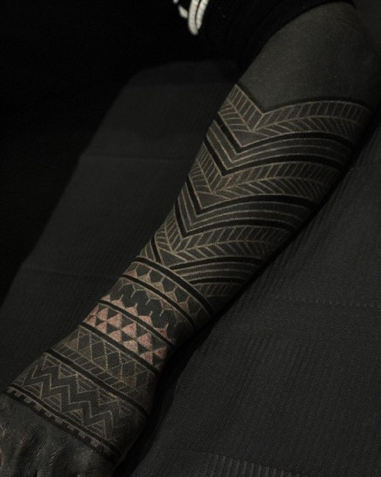 татуировки рукава мужские