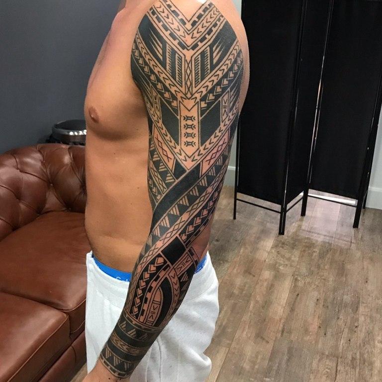 татуировка рукав