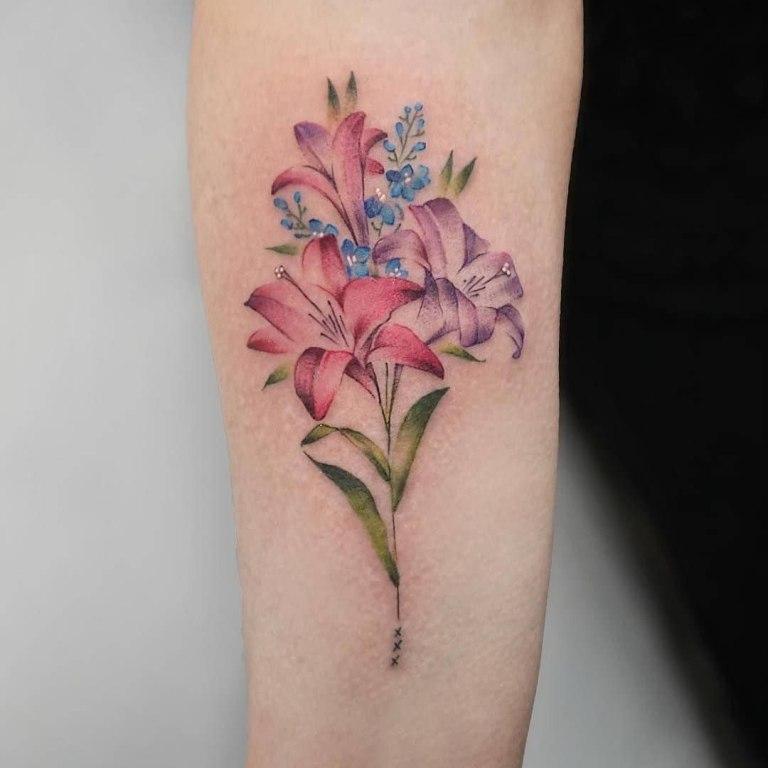 красивые татуировки на плече