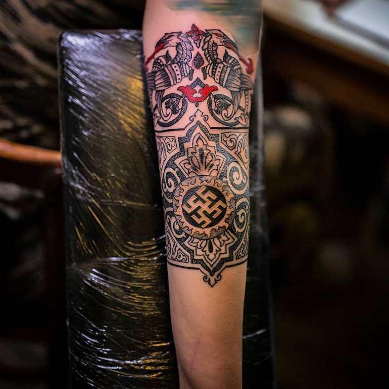 татуировки славянские