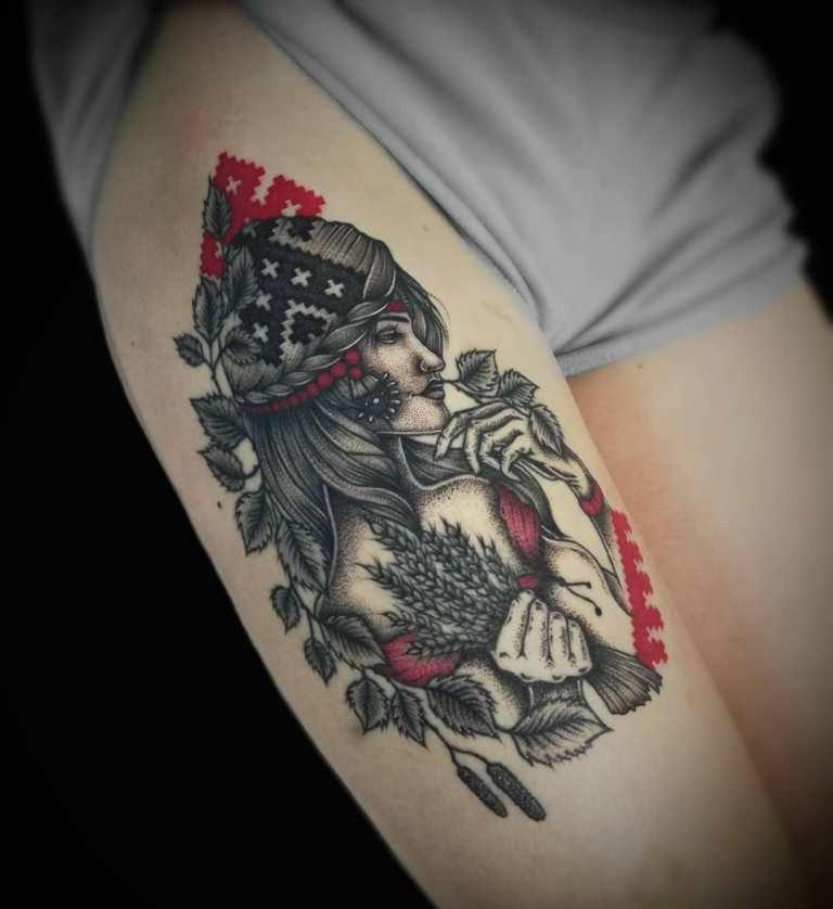 языческие татуировки древних славян