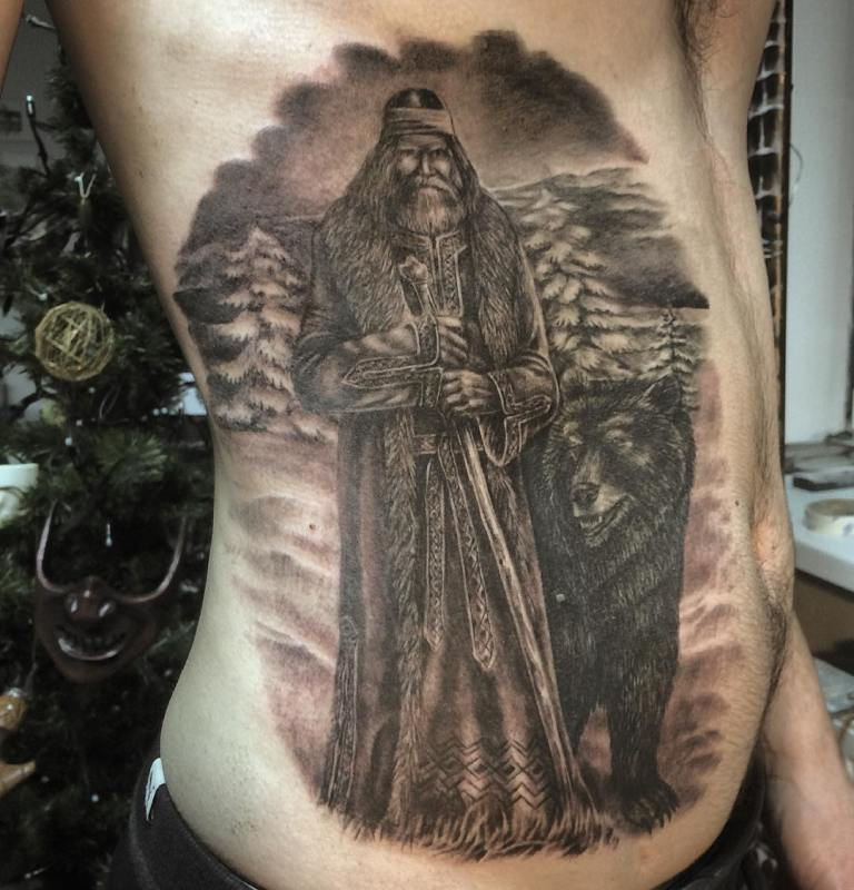 славянские татуировки эскизы