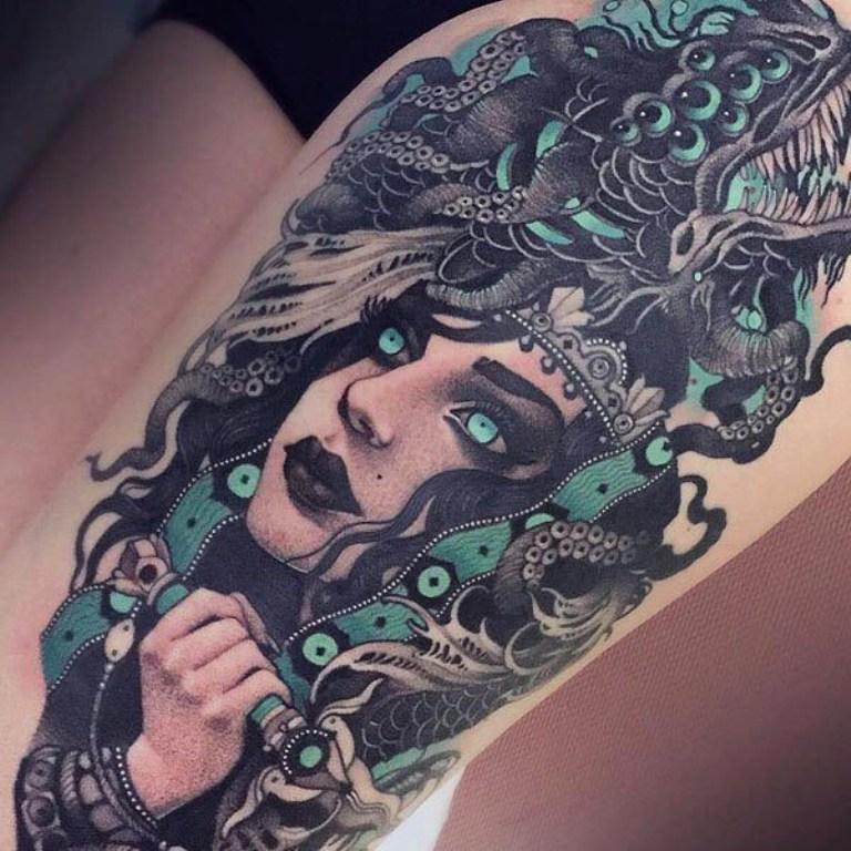 татуировки в стиле