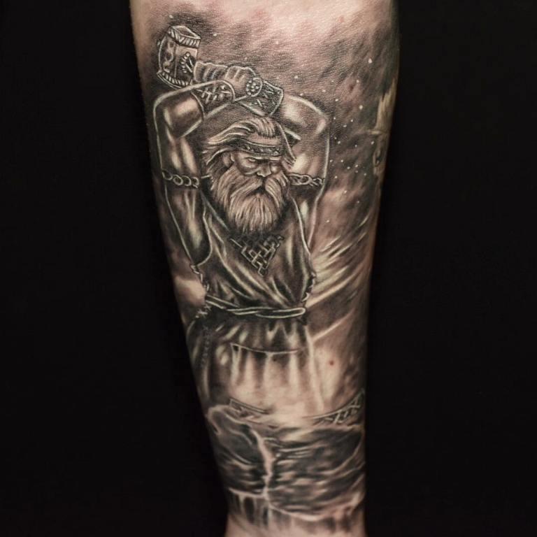 татуировки викингов эскизы
