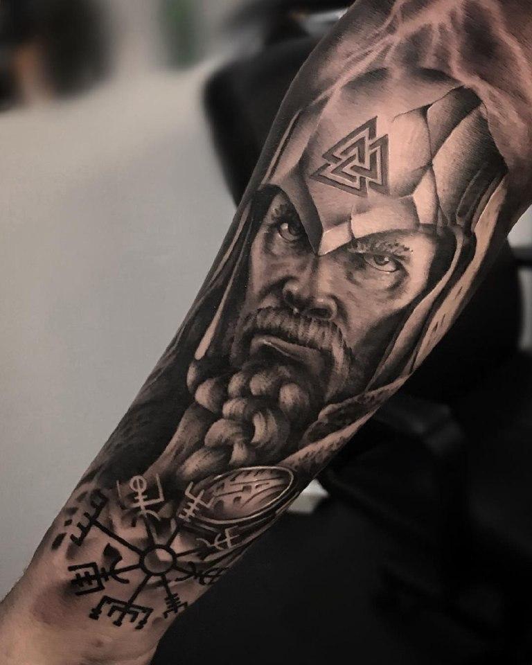 тату викинги