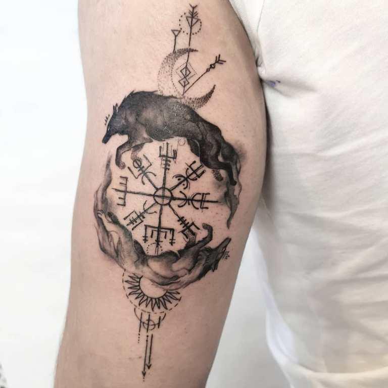 скандинавские татуировки и их значение